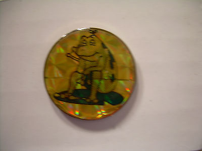 Frog Sitting and Dreaming Vintage Pin from the 80's