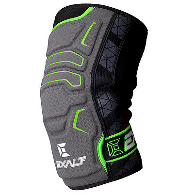 Exalt Paintball Knee Pads - Medium - Black - New