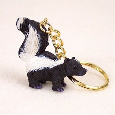 Skunk key chain great gift !
