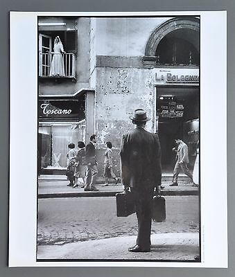 Leonard Freed Ltd. Ed. Photo Print 30x35 Naples Italy 1958 Neapel Italien Italie