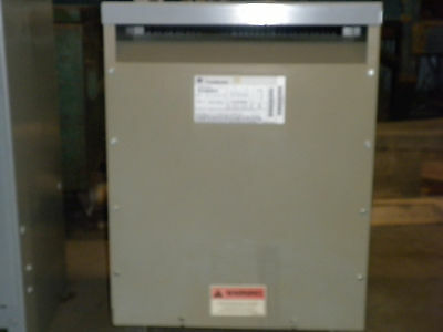 Ge Transformer 45 Kva Three Phase 9T23B3873 No Lugs #n9