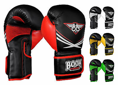 Rex Leather Boxing Gloves Professional MMA Sparring Punch Bag Training Fight