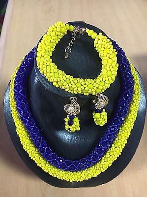Nigeria African Handmade Necklace Bead Jewelry