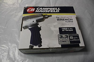 NEW Campbell Hausfeld TL0502 1/2-Inch Air Impact Wrench