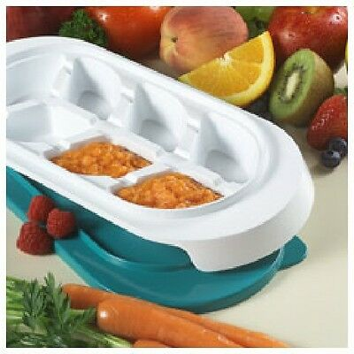 KidCo F200 Baby Food Breast Milk Freezer Storage Trays, Set of 2
