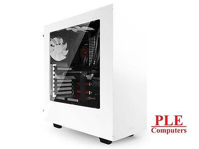 NZXT Source 340 White Mid Tower w/Side Panel Window[CA-S340W-W1]