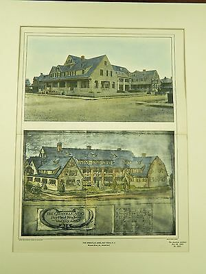 The Grenville Arms, Bay Head, New Jersey, 1901. Original Plan.