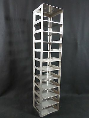 "THERMO SCIENTIFIC REVCO Stainless Steel SS 11-Position 2"" Box Chest Freezer Rack"