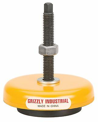 Grizzly G7159 Machine Mount, 1600-Pound Capacity, 3-Inch