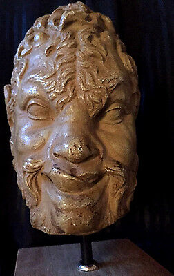 Witch Antique Vintage Sexual Pan Entity Statue Wiccan Witchcraft Haunted Estate
