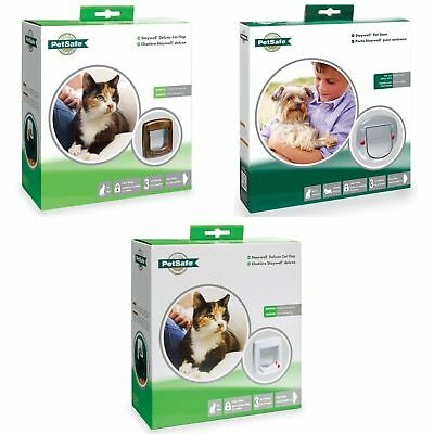 Petsafe Staywell Deluxe Manual 4 Way Locking Cat Flap