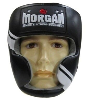 Morgan V2 Professional Leather Head Guard Boxing