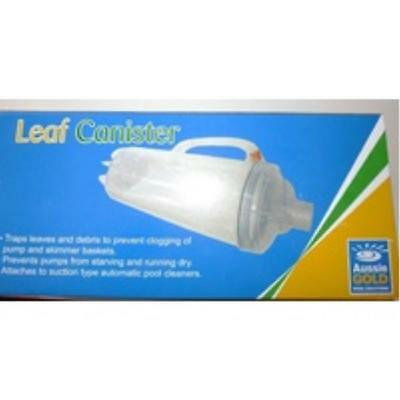 Leaf Canister - Swimming Pool Cleaner, Traps Leafs & Debris Before Pump