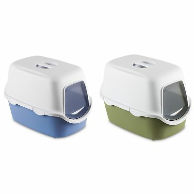 Stefanplast SPA Cathy Hooded Cat Litter Tray Toilet With Filter