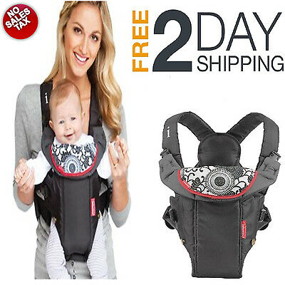 NEW Newborn Front Backpack Infant Baby Carrier Compact Comfortable Infantino