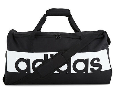 Adidas Medium Linear Team Bag  - Black/White