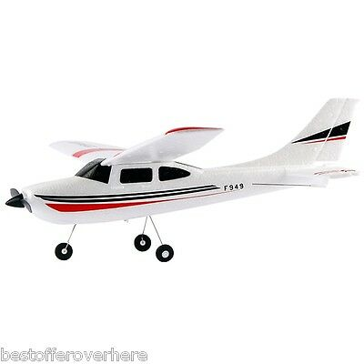Original WLtoys F949 Cessna 182 2.4G 3CH RC Aircraft Fixed-wing RTF Airplane
