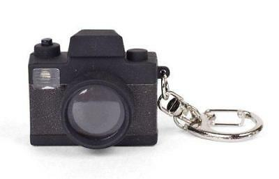 Kikkerland Camera LED Keyring Lights and Sounds