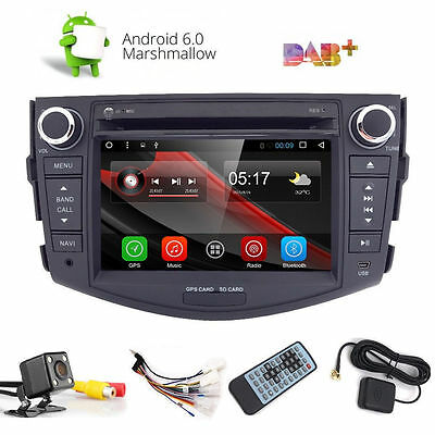 Quad Core Android 6.0 Car DVD Player For Toyota RAV4 2007-2012 GPS Stereo+Cam