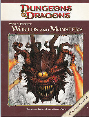 Dungeons & Dragons - World and Monsters. 4th Edition Preview