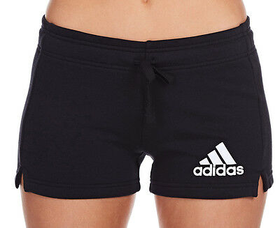 Adidas Women's Essential Solid Shorts - Black/White