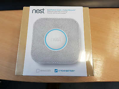 Nest Protect Smoke + Carbon Monoxide Alarm (Battery) - Brand New Sealed