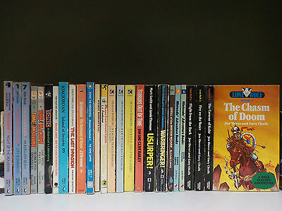 Various Role Playing/Adventure Game Books - 26 Books Collection! (ID:45496)
