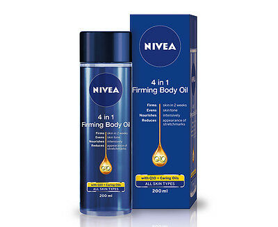 Nivea Q10 4 in 1 Firming Body Oil 200mL