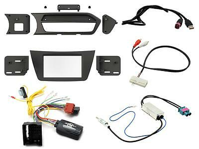 Connects2 CTKMB14L Mercedes C Class 12 - 14 Complete Double Din Fitting Kit LHD