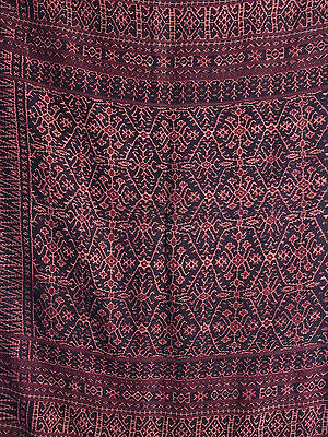 Tubular women's skirt, sarong, Flores, Indonesia,