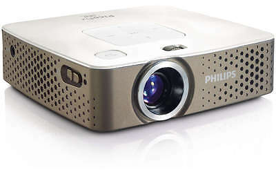Philips PicoPix PPX3414 LED Multimedia Pocket Projector Integrated Media Player