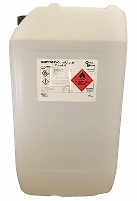 Isopropyl Alcohol IPA 25L Industry PureChem (99.9) 25 Litre Container