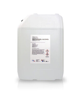 IPA ISOPROPYL ALCOHOL / Isopropanol 20L Industry QUALITY (99 9) 20 Litre  DRUM