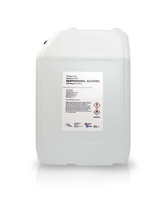 IPA Isopropyl Alcohol / Isopropanol PURE  (99.9%) 20 Litre DRUM Industrial UK