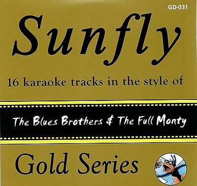 Sunfly Karaoke Gold Series Volume 31 The Blues Brothers & Full Monty CD+G Neu