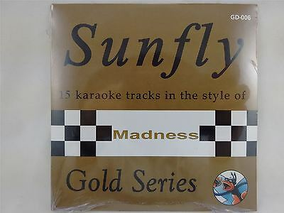 Sunfly Karaoke Gold Series Volume 6 Madness CD + G New Sealed
