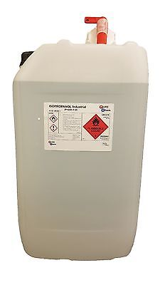Isopropyl Alcohol IPA PureChem 20L Drum PURE 99.9% 20 Litre Container with TAP