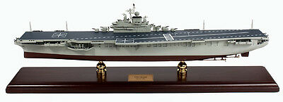 US Navy USS Intrepid CV-11 Desk Top Display 1/350 Aircraft Carrier Ship ES Model