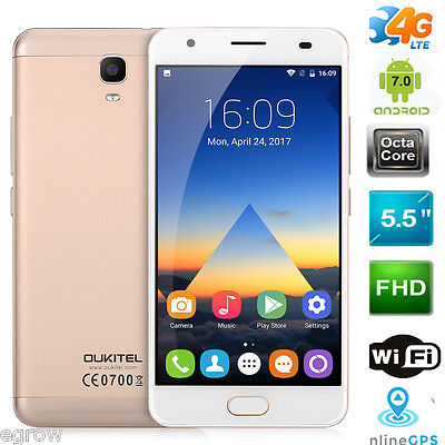 64GB OUKITEL K6000 Plus 5.5'' 8Core 4G Smartphone Android 7.0 Dual SIM Cellulare