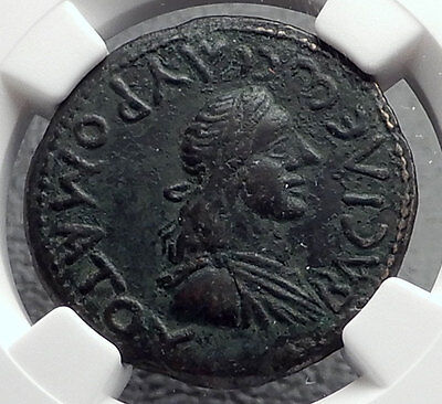 Sauromates I BOSPORUS King 108AD Authentic Ancient Greek Type Coin NGC i60435