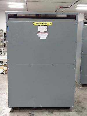 Square D 300 KVA 3-Phase Transformer 480 x 208Y/120 13-K-Factor Type 2 Enclosure