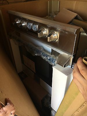 commercial double oven new electric never installed stainless steel