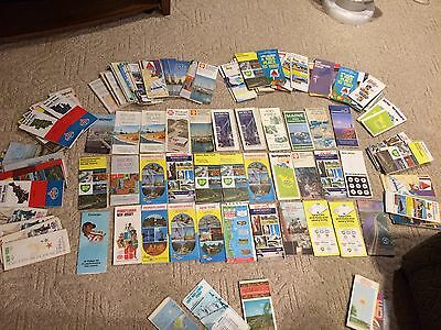 146 Road Maps Esso Standard American Gulf Shell Bp Sunoco AAA 60's 70's Gas