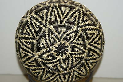 Wounaan Darien Indian Hösig Di Museum Abstract Artist Basket 300A11 tight weave