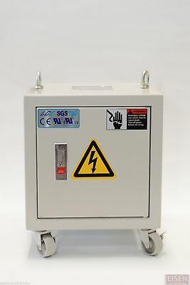 3-Phase 3KVA Enclosed Auto Transformer Pri: 440/460/480V Sec: 220V