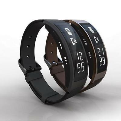 OLED Wrist IP67 Waterproof Bracelet Bluetooth Smart Heart Rate Touchpad For iPh