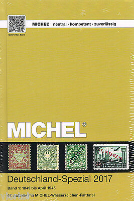 Michel Catalogo Germania Specializzato Volume 1 2017