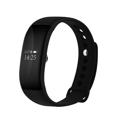 V66 Bluetooth 4.0 Waterproof IP68 Smart Bracelet Heart Rate Monitor For iPhone S