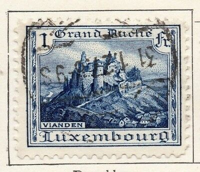 Luxembourg 1924-26 Early Issue Fine Used 1F. 146913