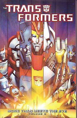 Transformers More Than Meets The Eye vol 3 trade paperback IDW